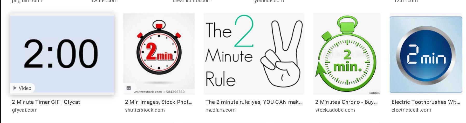 tips produktif: 2 minutes rule