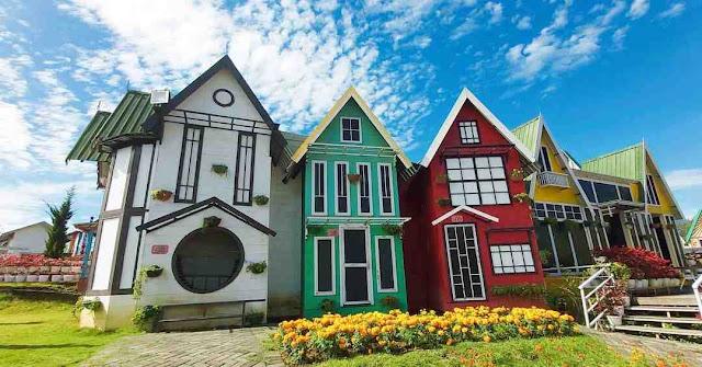 Tiket Masuk Santerra De Laponte Pujon Malang, Flora Wisata Ala Korea dan Belanda