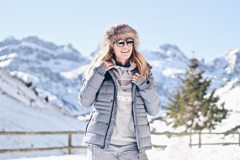 chaqueta esqui azul
