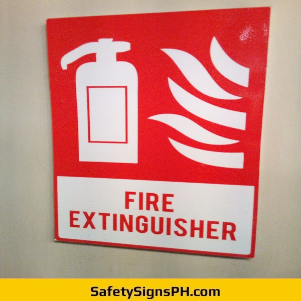 Custom Fire Extinguisher Sign Philippines