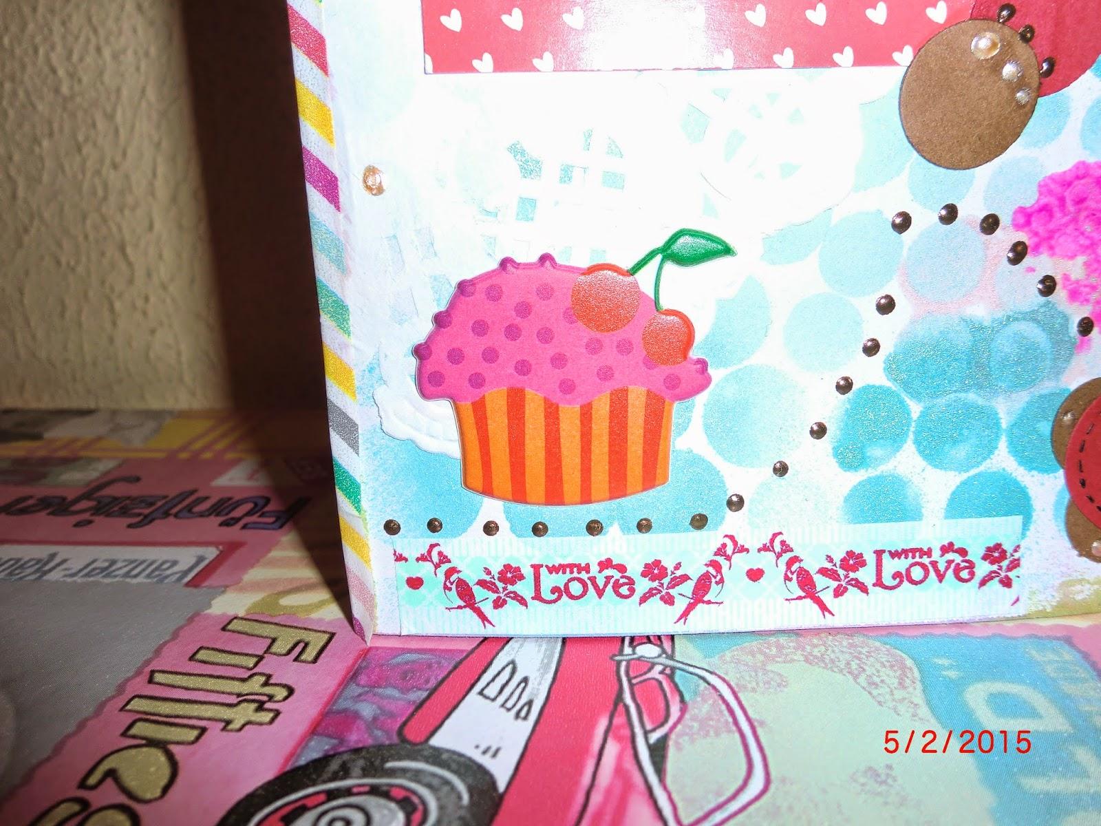 detalle de pastel de cumpleaños
