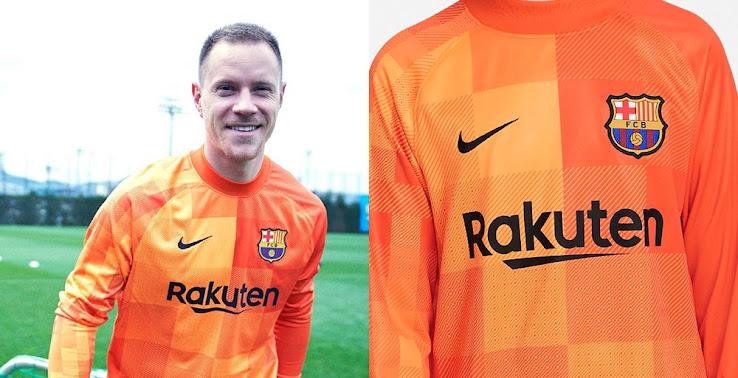 Fc Barcelona 21 22 Goalkeeper Kit Revealed La Liga Only