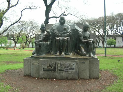 Parque Los Andes, Monumento Los Andes