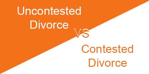 What is the Difference Between an Uncontested Divorce and a Contested Divorce?