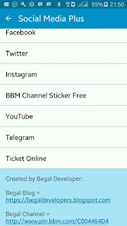 BBM Mod Plus ADD Sosmed ( FB + Twitter + Instagram + Etc) v3.0.1.25