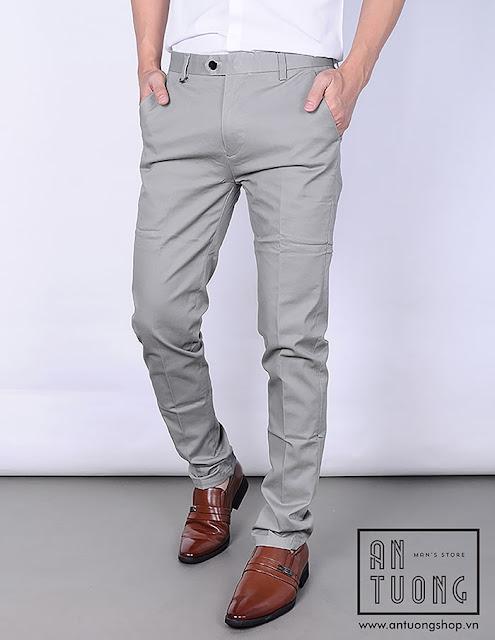 quần kaki nam ấn tượng shop