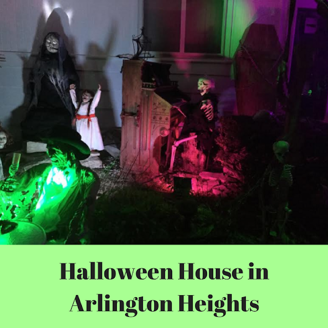 Halloween House Arlington Heights, Illinois