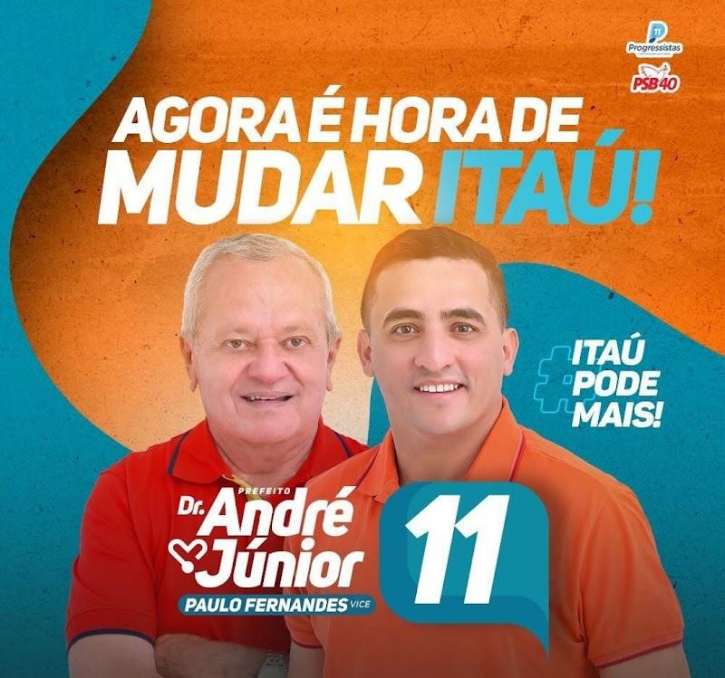 Itaú pode mais, realiza grande movimentação política neste DOMINGÃO em Itaú!