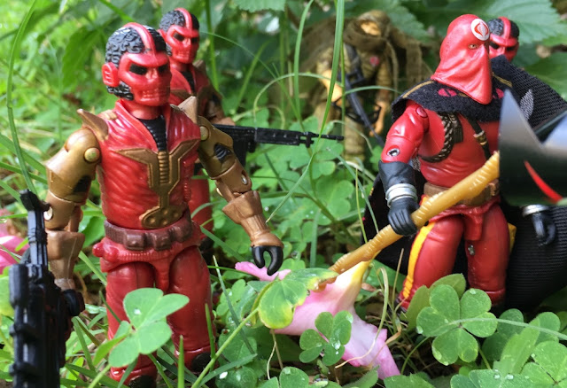 2005 Cobra Imperial Guard, Cobra Commander, Imperial Processional, TRU Exclusive, 2004 Ninja Strike Stormshadow