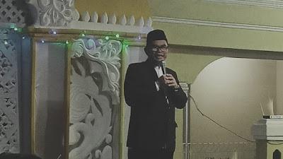 Drs.H.Adjo Sardjono .MM Hadiri Maulid Nabi di Masjid Jami Assaadah