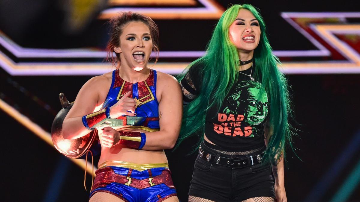 Shotzi Blackheart e Tegan Nox estreiam no WWE SmackDown