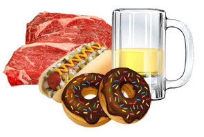 Makanan pantangan penderita darah tinggi