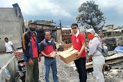 DPC PSI Cengkareng Bantu Korban Kebakaran di Cengkareng