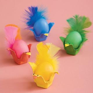 Yumurta Kepinden Civ Civ Yapımı