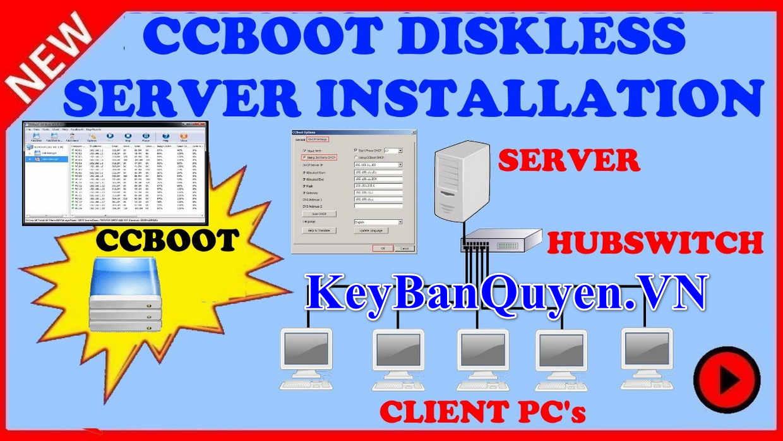 Download CCBoot 2019 build 0917 Full Key, Phần mềm + Hướng dẫn làm hệ thống mạng Boot Room + Games Server.