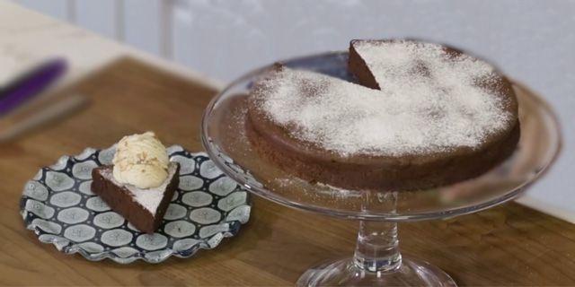 basit ve kolay ev yapımı türk kahveli kek