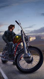Bike Rider Mobile HD Wallpaper