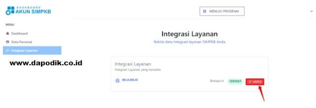 Panduan Integrasi Akun SIM PKB Dengan Akun Belajar ID Guru Jenjang TK/ PAUD, SD. SMP. SMA dan SMK