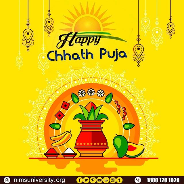 Chhath Pooja Wishes Nims University