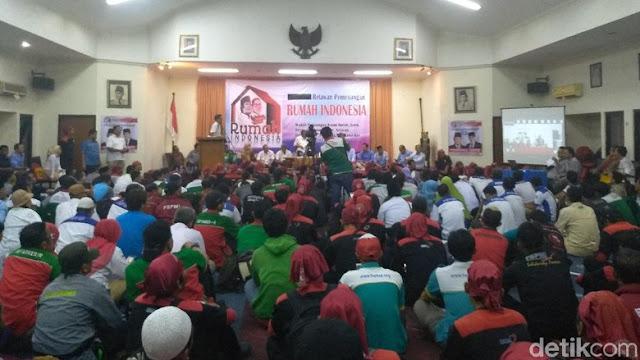 Relawan Rumah Indonesia Siap Menangkan Prabowo-Sandiaga