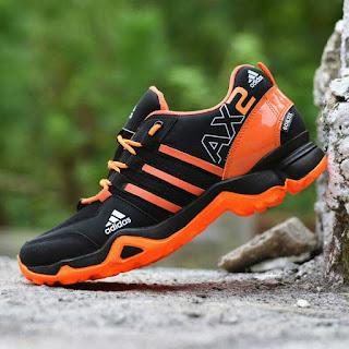 Sepatu Tracking Adidas AX2 Hitam Merah [AX2-805]