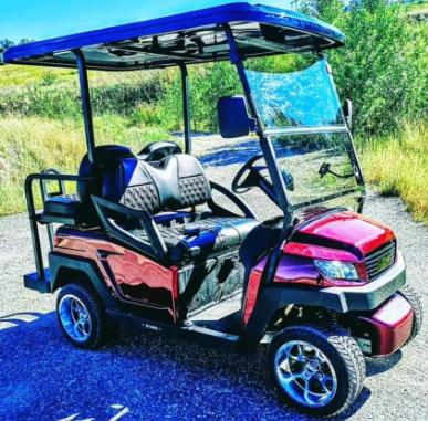 Mobil Golf Car Tampil Sporty Dengan Velg Ring 10
