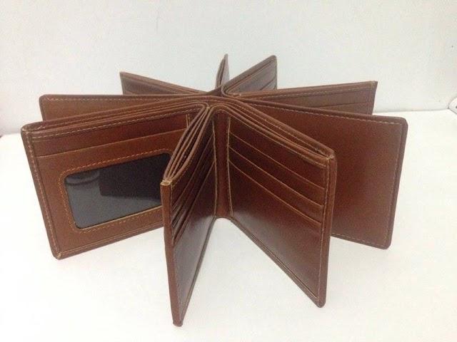 Dompet Kulit Murah Model 3D