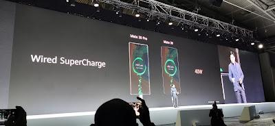 خاصية الشحن السريع في سلسلة هواتف هواوي HuaweiMate30