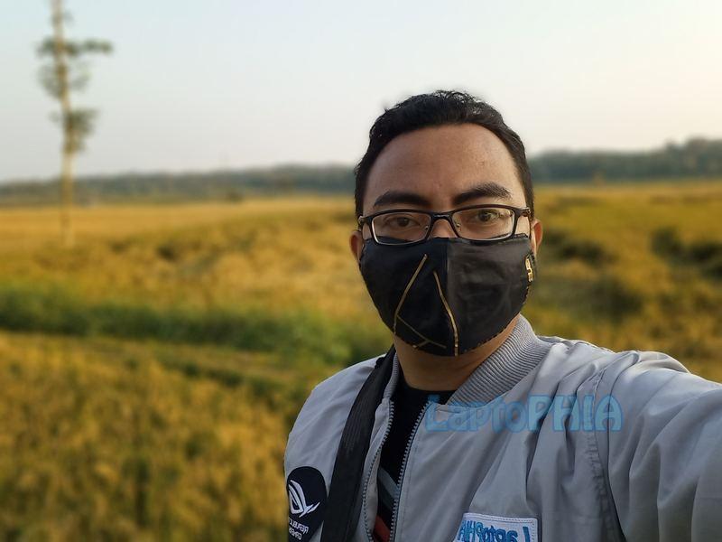 Hasil Foto Kamera Depan Samsung Galaxy A32