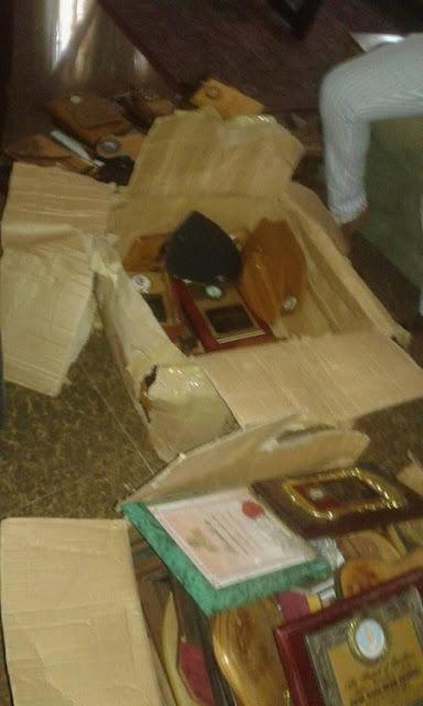 Dora Akunyili's Husband Discovers 110 More Awards Packed Inside Her Box (See Photos)