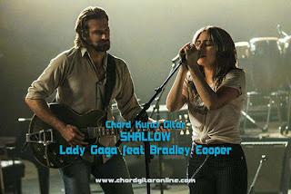 Chord Kunci Gitar SHALLOW Lady Gaga Feat Bradley Cooper Ost. A Star Is Born