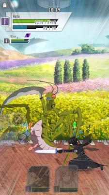 SAO MD - Kirito podczas walki z modliszką