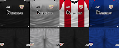 PES 6 Kits Athletic Bilbao Season 2018/2019 by VillaPilla