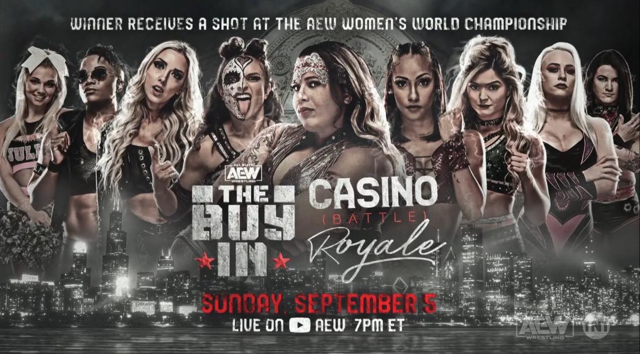 Novas participantes são anunciadas para AEW Women's Casino Battle Royal