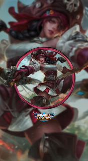 Karina Black Pearl Heroes Assassin Mage of Skins V1
