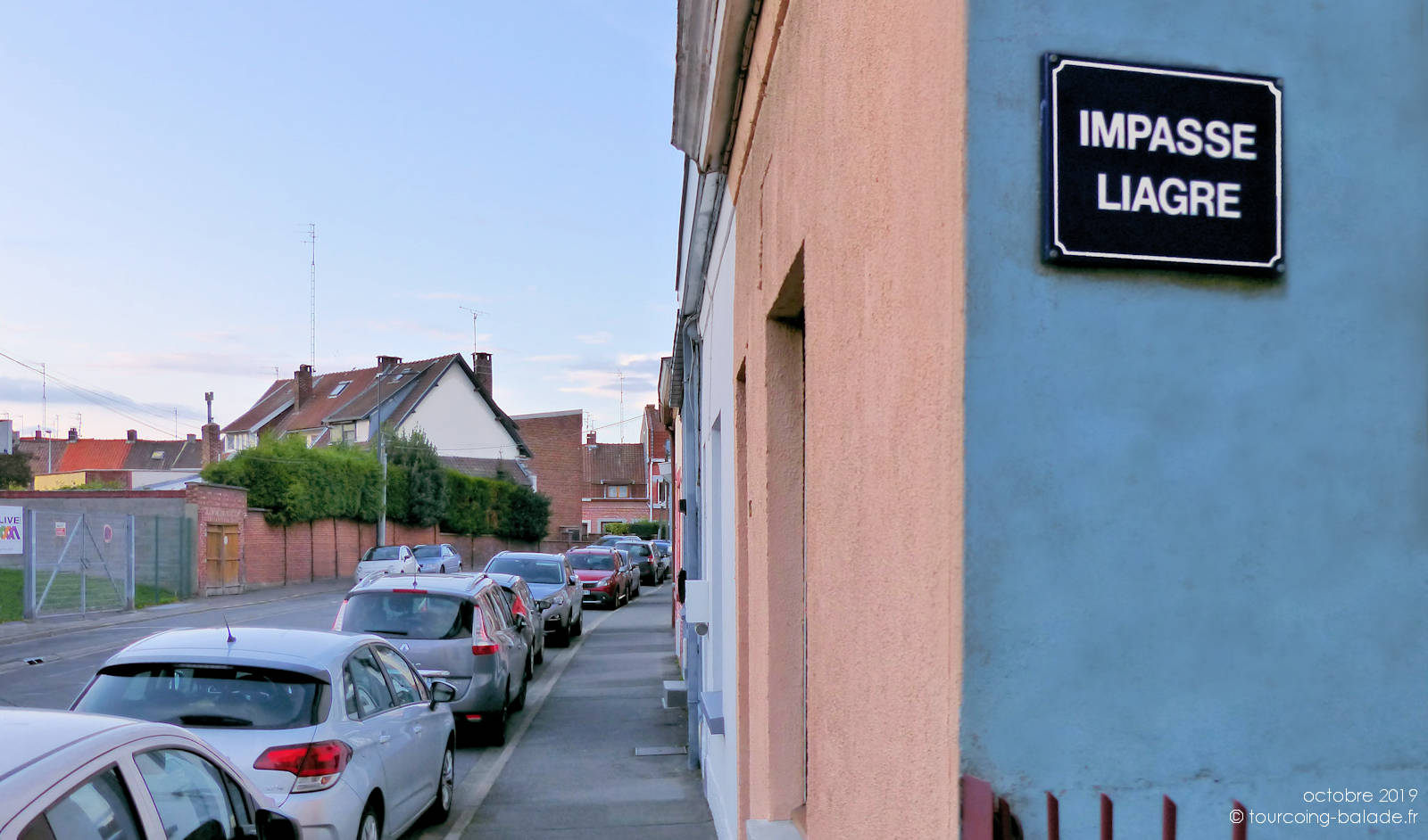 Impasse Liagre, Tourcoing - rue de la Potente.