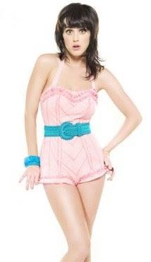 Foto de Katy Perry con ropa de verano