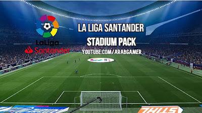 La Liga Full Stadium Pack