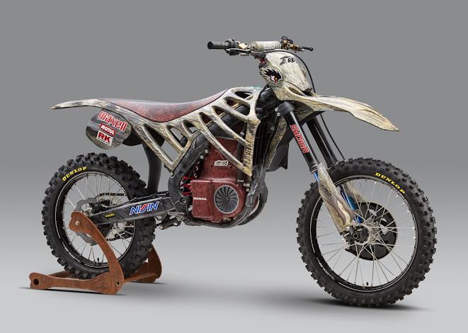Mugen E.Rex Electric Motocrosser/Dinosaur