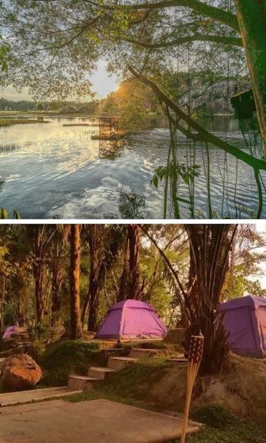 Tadom Hill Resort Banting khemah