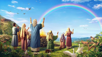 noah and family after the flood