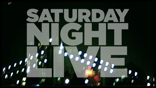 'Saturday Night Live' title card