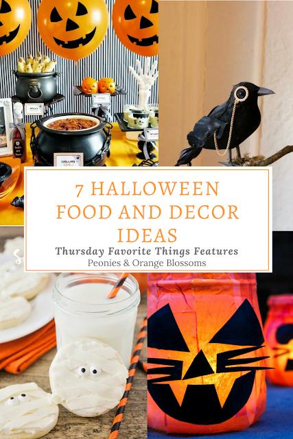7 Halloween Food and Decor Ideas