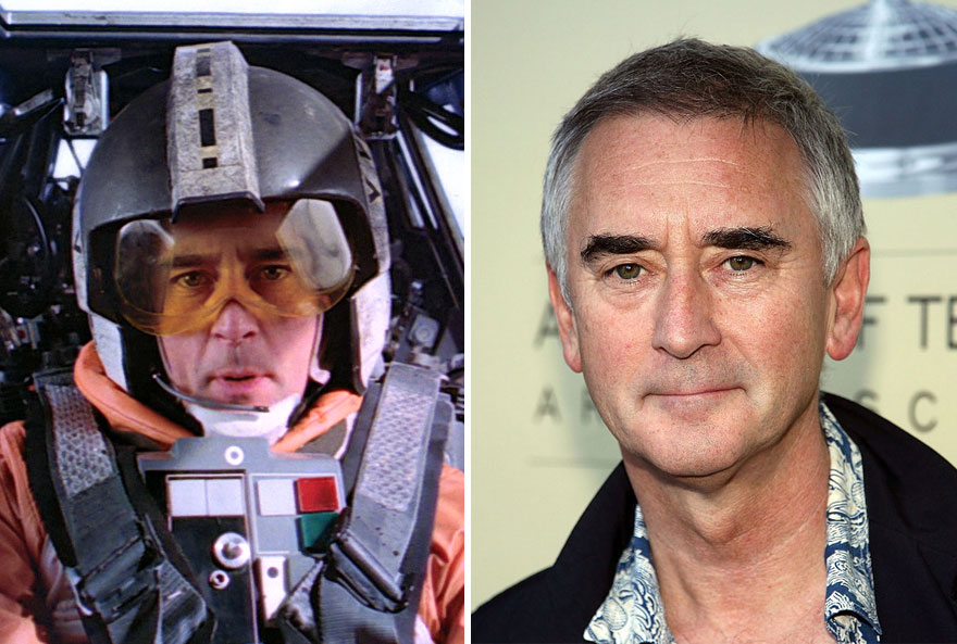 Denis Lawson As Wedge Antilles,1980 And 2015