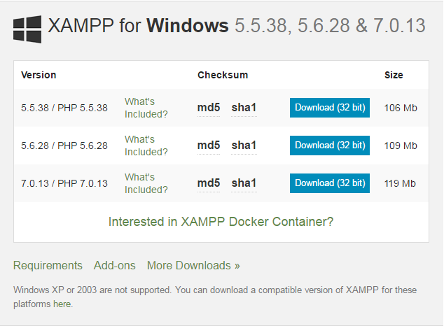XAMPP For Windows - KeyzeX