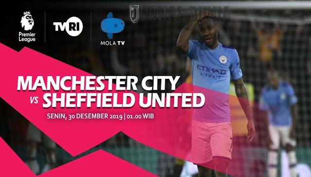 Prediksi Manchester City vs Sheffield United , Sabtu 30 Januari 2021 Pukul 22.00 WIB @ Mola TV