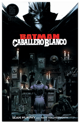 Batman caballero Blanco Sean Murphy y Matt Hollingsworth 80 aniversario Batman