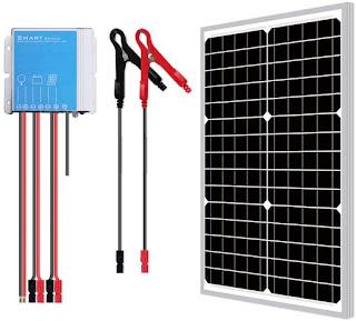 Newpowa 30W Watts 12V Waterproof Solar Panel