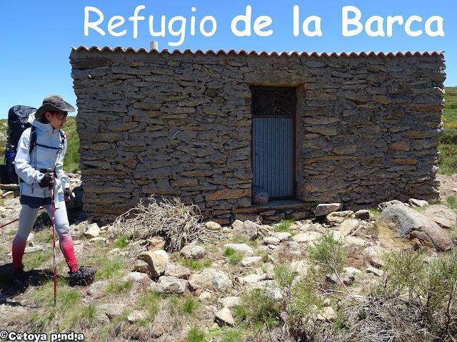 Refugio no guardado en el Camino de la Guía Gredos