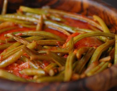 Vagens em Molho de Tomate (vegana)